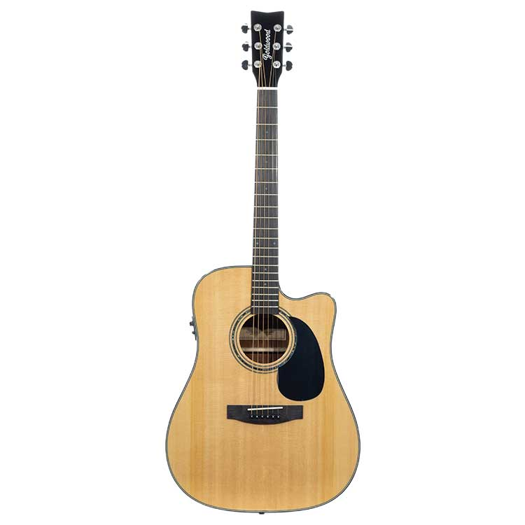 Goldwood Dreadnought Collina Series CTW EQ, Elettrificata