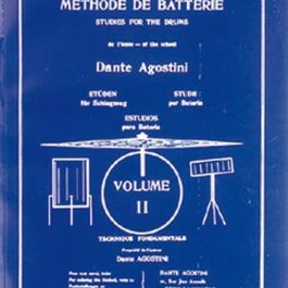 Methode de Batterie, vol. 2, Dante Agostini MK3365